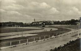 Germany, PASEWALK, Stadion Walter Siebert (1950s) Stadium RPPC Postcard - Soccer