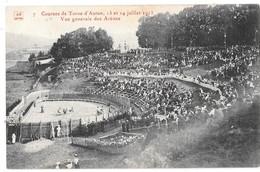Courses De Toros D'AUTUN - 13 Et 14 Juillet 1913 - Vue Générale Des Arènes - Autun