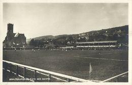 Switzerland, NEUCHÂTEL, Parc Des Sports (1930s) Stadium RPPC Postcard - Soccer