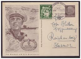 Sudetenland (005115) Ganzsache P242/06 U-Boot Und Wasserflugzeuge, Gelaufen?? Reichenberg Mit SST 1941 - Sudetenland