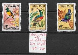Oiseau Passereau - Haute-Volta N°138 à 140 1984 * - Perroquets & Tropicaux