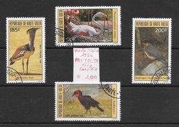 Oiseau Flamand Outarde - Haute-Volta PA N°256 à 259 1984 O - Non Classés