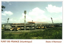 Martinique, FORT-DE-FRANCE, Stade D'Honneur (2002) Stadium Postcard - Soccer