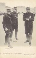Carte Postale    DE CASTELNAU  JOFFRE  PAU - Guerre 1914-18