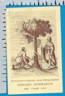 Holycard   St. Gummarus    Lier - Devotion Images