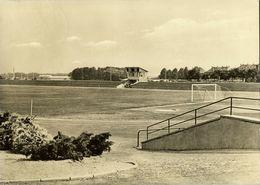 Germany, KAMENZ Sa., Stadion Der Jugend (1971) Stadium RPPC Postcard - Soccer