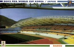 South Korea, DAEGU, FIFA World Cup (2002) Stadium Postcard - Soccer