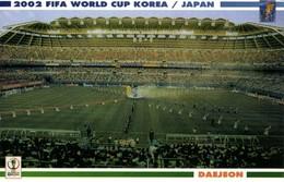 South Korea, DAEJEON, FIFA World Cup (2002) Stadium Postcard - Soccer