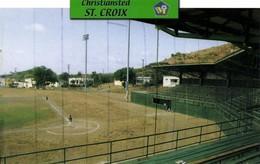 US Virgin Islands, ST. CROIX, Christiansted Ballpark (2000s) Stadium Postcard - Soccer