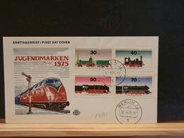 81/739   FDC  ALLEMAGNE - Treni