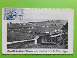 DONVILLE LES BAINS, Manche,  Le Camping Dans Les Dunes,  Ed Lucien  1954 TTB,  Peu Courante - Autres Communes