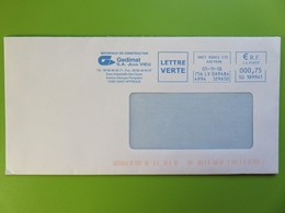 EMA - S.A. Jean Vieu - Gedimat - 12400 St Affrique - Lettre Verte - Onet Rodez - 05.11.18 - Sur Enveloppe - EMA (Empreintes Machines à Affranchir)