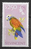 Oiseau Perroquet - Saint-Vincent N°220 2$50 1965-68 ** - Perroquets & Tropicaux