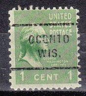 USA Precancel Vorausentwertung Preo, Locals Wisconsin, Oconto 712 - Vereinigte Staaten