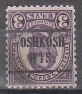 USA Precancel Vorausentwertung Preo, Locals Wisconsin, Oshkosh 635-224,5 - Vorausentwertungen