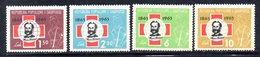 585/1500A - ALBANIA 1963 , Serie Yvert N. 604/607 (Michel 717/720)***  MNH  Croce Rossa - Albania