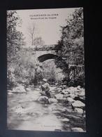 39  CLAIRVAUX - Du - JURA  Vieux  Pont  De  Cogna  ( Pêcheur ) - Clairvaux Les Lacs