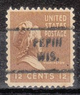 USA Precancel Vorausentwertung Preo, Locals Wisconsin, Pepin 712 - Vereinigte Staaten
