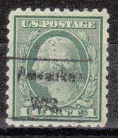 USA Precancel Vorausentwertung Preo, Locals Wisconsin, Pewaukee 458, Perf. 10x10 - Vorausentwertungen