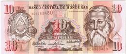 Honduras - Pick 86c - 10 Lempiras 2004 - Unc - Honduras