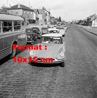Reproduction D'une Photographie Ancienne D'une Citroen DS Sur La Nationale 7 En 1959 - Reproductions