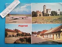 Poprad, Tschechien, Flugplatz, TU-134, 1988 - Czech Republic