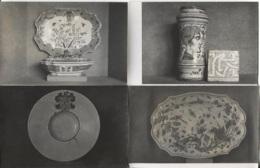 """CPA - ROUEN - Exposition Trésors De La Faïence De ..."""" 1952 - Lot 4 Vues  - Photo-musée Des Beaux-Arts ... - Rouen"""