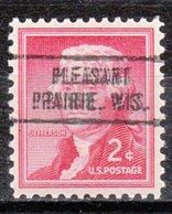 USA Precancel Vorausentwertung Preo, Locals Wisconsin, Pleasant Prairie 736 - Vereinigte Staaten