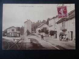 39  CLAIRVAUX - Du - JURA   La  Gare - Clairvaux Les Lacs