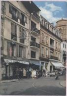 CPSM - ST JEAN DE LUZ - Rue Gambetta Et L'Eglise - Edition Rex - Saint Jean De Luz