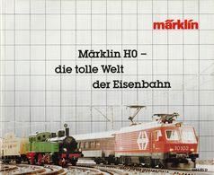 Marklincatalogus 1984 -Duitstalig - German