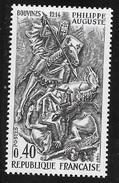 N° 1538   FRANCE  - NEUF - PHILIPPE AUGUSTE -  1967 - Unused Stamps