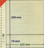 Feuilles Neutres Lindner T à L'unité Réf. 802213  à Moins 50 % - Albums & Reliures