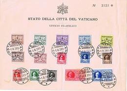1929 POSTE VATICANE CONCILIAZIONE - Vatican