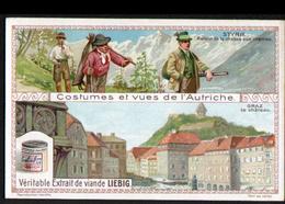 LIEBIG , S 1089, Costumes De L'Autriche, Styrie, Retour De La Chasse Aux Chamois, Graz, Le Chateau - Liebig