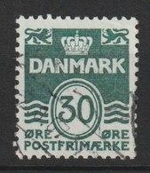MiNr. 456 Dänemark / 1967, 30. Juni. Freimarken: Wellenlinien Ohne Herzchen - Dänemark