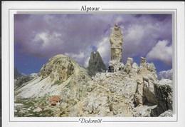DOLOMITI - RIFUGIO LOCATELLI - TORRE DI TOBLINO - FOTO FRANZL - VIAGGIATA 2000 - Alpinisme