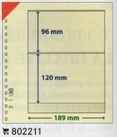 Paquet De 10 Feuilles Neutres Lindner T Réf. 802211  à Moins 50 % - Albums & Reliures