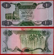 **  LIBYE  -  1 Dinar Non Daté ( 1984 )  UNC  ** - Libye