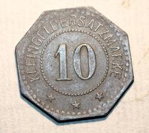 """WWI Monnaie Jeton De Necessité De La Ville De Neustadt A/d HDT """"10 Stadt Neustadt A/d HDT"""" Allemagne 1917 WW1 - Monetary/Of Necessity"""