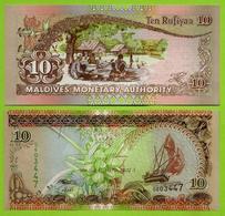 ** MALDIVES - 10 RUFIYAA 1427 ( 2006 ) UNC ** - Maldives