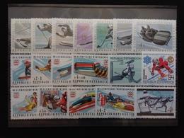 AUSTRIA 1964/82 - Olimpiadi E Sports Invernali - Nuovi ** + Spese Postali - 1945-.... 2a Repubblica