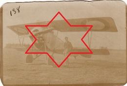 Photo 1915 ROMORANTIN - Un Avion Nieuport 10 (N° 1193 ?), Aviation (A202, Ww1, Wk 1) - Aviation