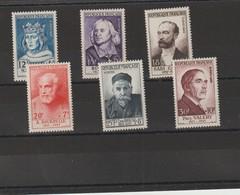 FRANCE 1954 N° 989 à 994 **   POINT NOIR SUR 992 - Unused Stamps