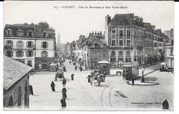 Cpa Lorient - Rue Du Morbihan Et Rue Victor Massé . - Lorient