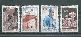DAHOMEY  Yvert  N° 235 à 238 **  SERIE COMPLETE  Festival Mondial Des Arts Nègres - Benin – Dahomey (1960-...)