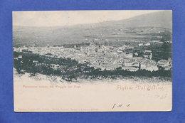 Cartolina Figline Valdarno - Panorama Veduto Dal Poggio Dei Frati - 1902 - Firenze (Florence)