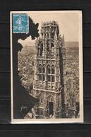 Francia 1928 Tarjeta Postal De Roven Circulada A Colombia - Francia