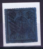 Braunsweich Mi 15A Obl./Gestempelt/used  1864 Signed/ Signé/signiert Richter - Braunschweig