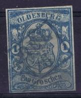 Oldenburg Mi 12  Obl./Gestempelt/used  1861 Fälschung Fake Space Filler - Oldenburg